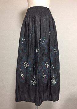 商品番号IS-5508  花ペイズリー柄スカート