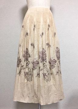 商品番号IS-5945-S ぼかし花柄スカート