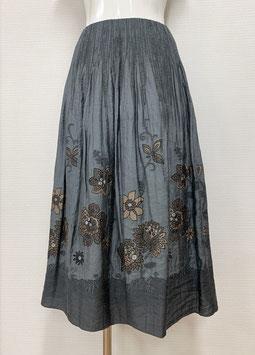 商品番号IS-6706 レース花柄スカート