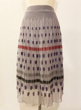 商品番号IS-6760  水玉透けスカート