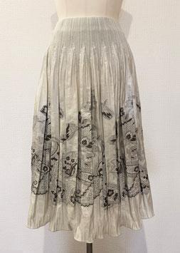 商品番号IS-6999  ペイズリーサラサ柄スカート