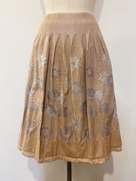 【新着】商品番号IS-8648-5USF  ヒマワリ柄スカート