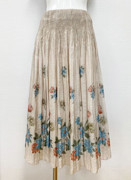 商品番号IS-5362  チューリップ柄スカート