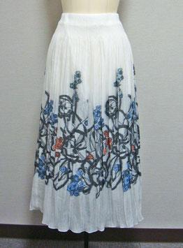 商品番号IS-5593  幾何花柄スカート