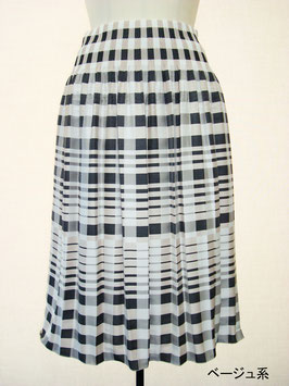 商品番号IS-9036-2W チェック柄スカート