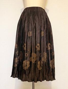 商品番号IS-7125 先染め2色出し花カットスカート