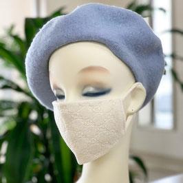 絹 ふわっふわっ美マスク(銅入り・シルク加工)¥4,400(税込)