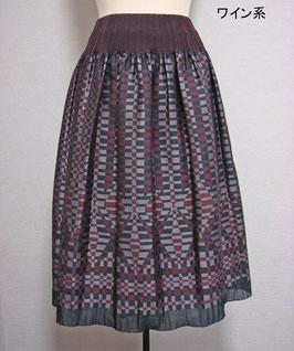 商品番号IS-9055-1W チェック柄スカート
