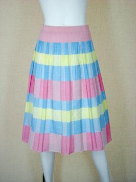 商品番号IS-7896 ブロックチェック柄スカート