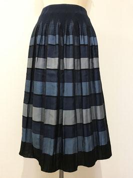 商品番号IS-9709-6US 【新着】格子柄スカート(ブルー)