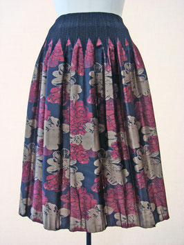 商品番号IS-9064-1W 2色出し花柄スカート