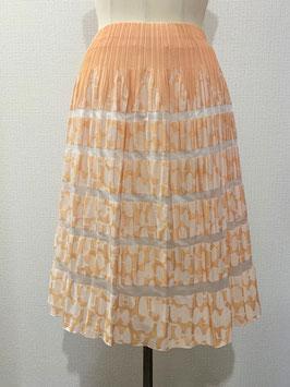 商品番号IS-8928-2W 丸幾何柄スカート