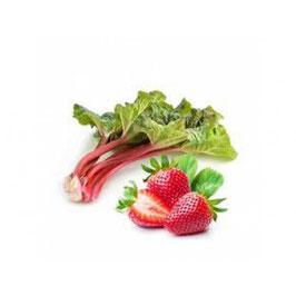 Confiture de rhubarbe fraise au Safran Cynfaël