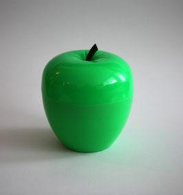Grüner Eiswürfelbehälter in Apfel-Form