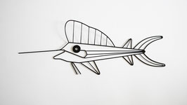 Schwertfisch Drahtfigur