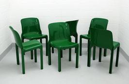 6er-Set Vico Magistretti Selene Stühle