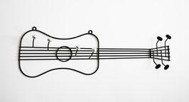 Garderobe Gitarre-Drahtfigur