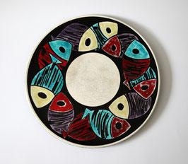Original Hugo Kohler Keramik Teller (gross)