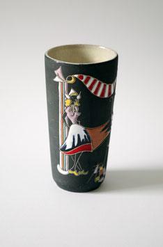 50er Jahre Keto Keramik Vase