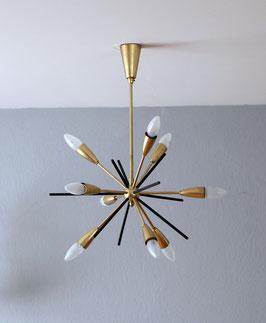 Originale Sputnik Deckenlampe aus den 50er Jahren
