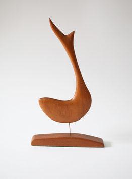 Mid Century Modern Walfisch Skulptur