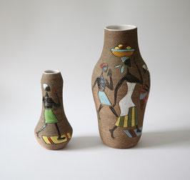 Italienisches Vasen-Set von Fratelli Fanciullacci