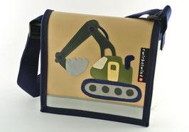 Kindergartentasche Bagger