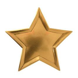 Teller Stern gold