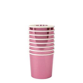 Becher Metallic Pink