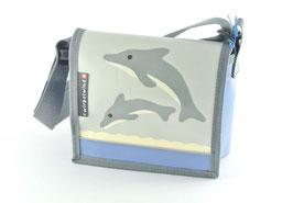Kindergartentasche Doppeldelfin