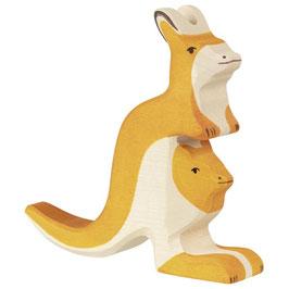 Känguruh mit Jungem (NEU)