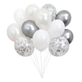 Beautiful Balloons Silver (NEU)