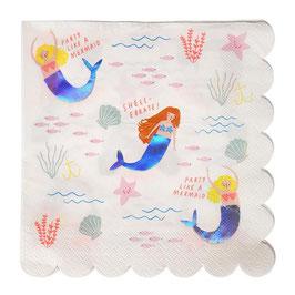 Serviette Mermaids