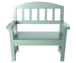 Wooden bench green (NEU)