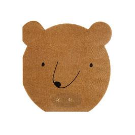 Serviette Bear
