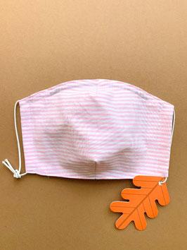 Stoffmaske pink Grösse wählen