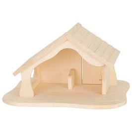 Puppenhaus / Stall mit Stern
