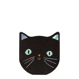 Serviette Katze