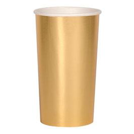 Becher gold gross