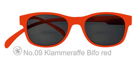 Klammeraffe® No. 9 Bifokal-SUN red