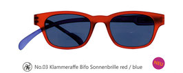 Klammeraffe® No. 03 Sonne-Bifokal red/blue