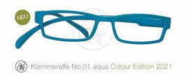 Klammeraffe® No. 01 aqua