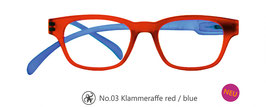 Klammeraffe® No. 03 red/blue