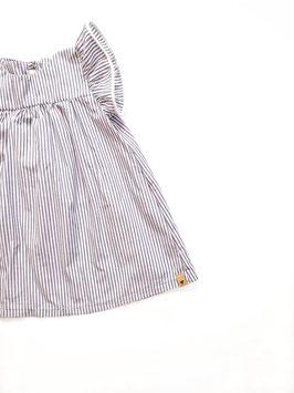Volants Dress Stripes