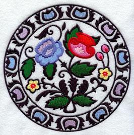 Polish Papercut Circle (Wycinanki)