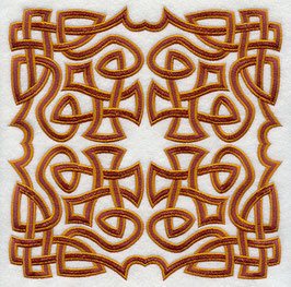 Celtic Knotwork Square