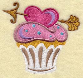 Cupid's Arrow Cupcake
