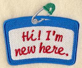 Hi I'm New Here