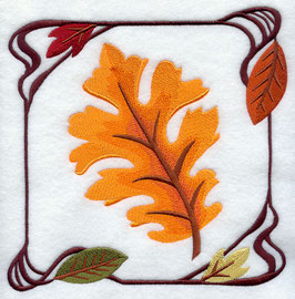 Four Seasons Nouveau Tile - Autumn Leaves