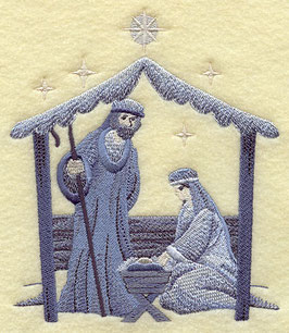 Silent Night Nativity - Stable